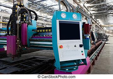 machine, nouveau, metalworking, puissant