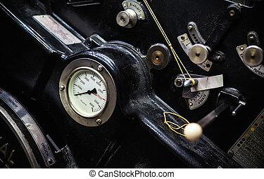 machine, oud, compensatie