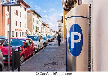 machine, parkeren