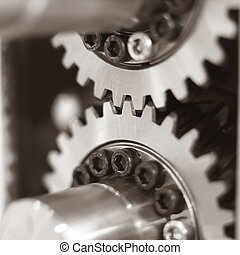 Machine Part - Close up of Machine Part