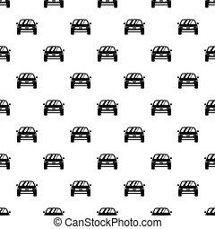 Machine pattern, simple style
