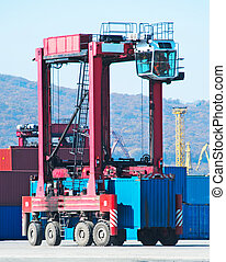 machine, port
