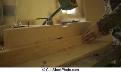 machine, procédés, menuisier, naturel, traitement, bois,...