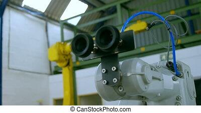 machine, robotique, 4k, moderne, entrepôt