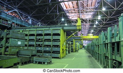 machine, stockage, magasin, travaux