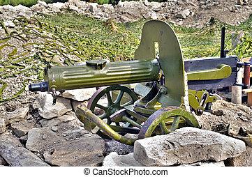 machinegeweer, oud