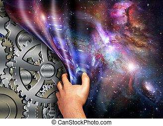 Machinery beneath space time revealed