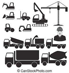 machinery., construções