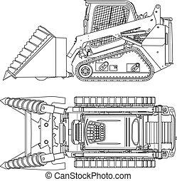 machinery - Technical illustration