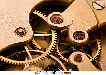 Machinery - Inside of the pocket watch