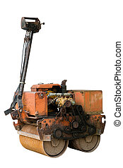 Machinery used for painting the large road.