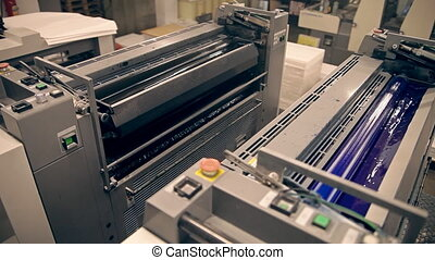 Machines for offset printing