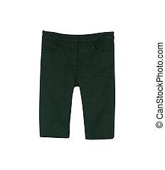 macho, calças brim, shorts