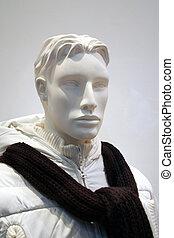 macho, mannequin