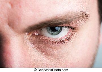 macho, ojo