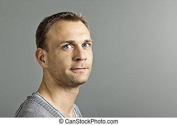 macho, retrato