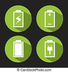 macht, batterij