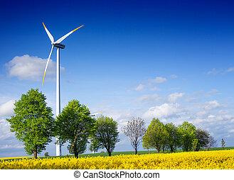 macht, en, milieu