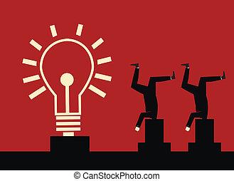 macht, idee