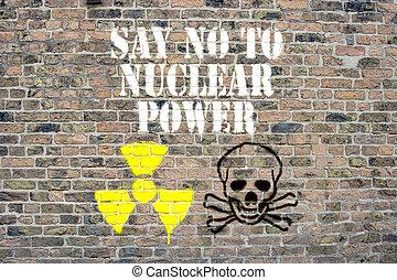macht, nein, sagen, nuklear