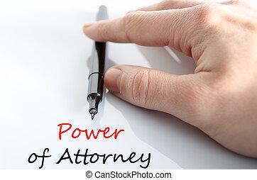 macht, van, advocaat, tekst, concept