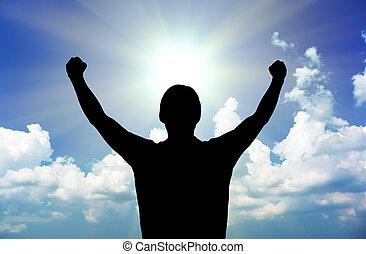 macht, van, god