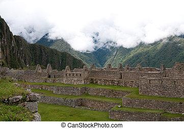 The picture of the Machu Picchu place of interest, Peru