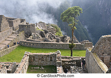 Machu Picchu - ancient city of Incas.