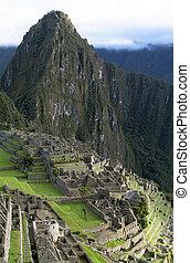 Machu Picchu, lost city of Inkas