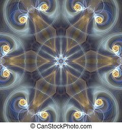 macio,  Mandala, estrela