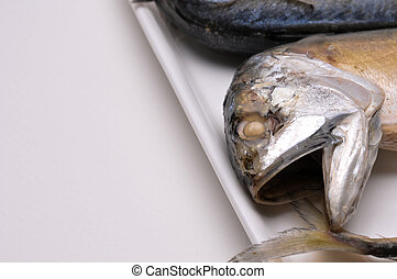 mackerel in Thailand, fresh seafood, lot of nutrition, ingredient ready to cook.