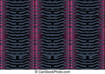 Mackerel scale. Vector seamless pattern.
