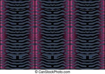 Mackerel scale. Vector seamless pattern.
