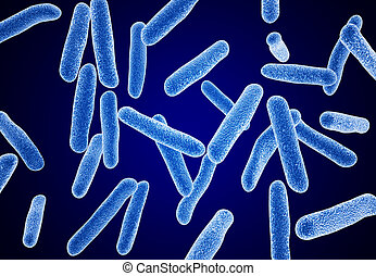 macro, bactérie