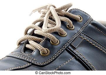 macro, chaussure