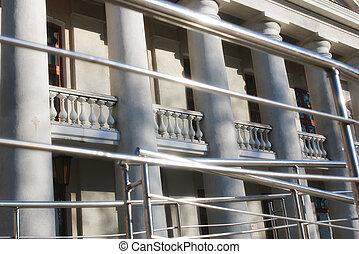 Macro column of the building