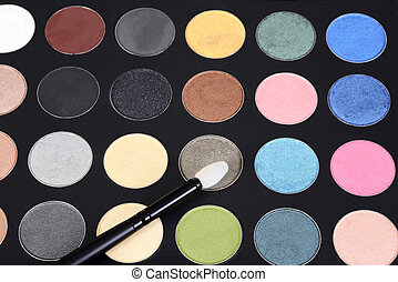 macro eye shadow palette makeup