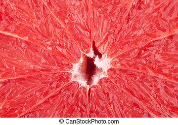 Macro food collection - Grapefruit texture