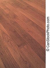 macro, houten, parket, houtenvloer, bevloering