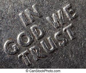 Macro In God We Trust