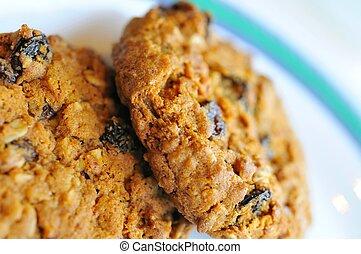 Macro of cookie texture
