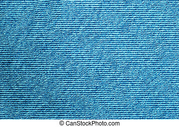 Macro of denim fabric for