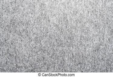 macro of grey felt texture for backgrounds
