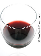 Macro of red Wine