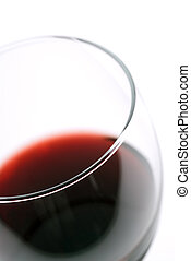 Macro of red Wine