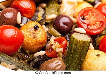 Macro of Stewed Vegetables