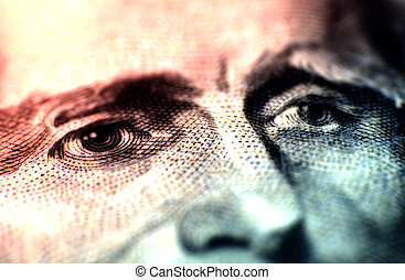 Jeffersons Eyes - Macro Photo of Jeffersons Eyes on the...