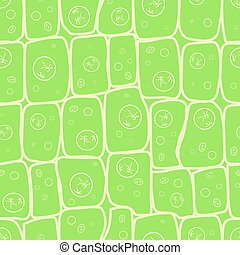 Macro photo of plant cells structure, eco pattern - Macro...