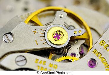Watch Movement - Macro Photo of Watch Movements