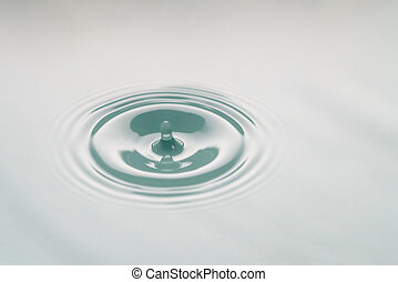 macro photo of water drop